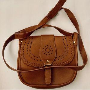 Super cute Brown Leather bag 💼 👛 💼